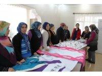 İskenderun Belediyesi el sanatları kurslarına yoğun ilgi