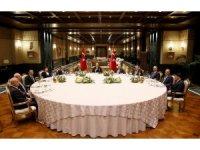 Cumhurbaşkanı Erdoğan, yasama, yürütme ve yargı organı temsilcileri ile bir araya geldi
