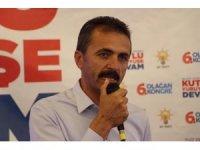 AK Parti'den istifa eden Doğanay, tekrar il başkanı oldu