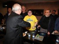 Aziz Yıldırım, Fenerbahçeli İş Adamları Platformu üyeleriyle bir araya geldi