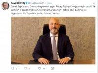 AK Parti Samsun İl Başkanlığı'na Karaduman atandı