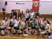 Söke Doğa Kız Voleybol Takımı Aydın Şampiyonu Oldu