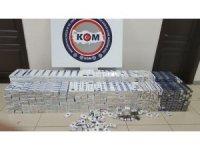 Mersin'de 5 bin 250 paket kaçak sigara ele geçirildi