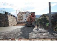 Barbaros Mahallesinde yol çalışmaları başladı