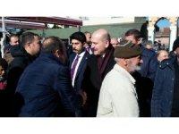 Vatandaştan Süleyman Soylu'ya yoğun ilgi