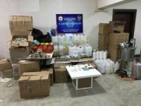Sakarya'da kaçak elektronik sigara ve likid imalathanesine baskın: 2 gözaltı