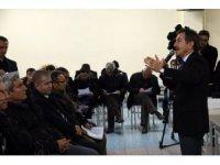 Başkan Ataç kömürlü termik santral konusunda vatandaşlardan görüş aldı