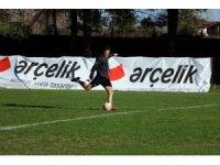 Sakaryasporlu futbolcular Karşıyaka maçına hazırlanıyor