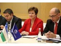 """Dünya Bankası CEO'su Georgieva: """"Geçtiğimiz yıl Özbekistan'da ciddi değişimler dönemi oldu"""""""