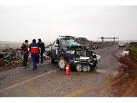 Yangına müdahaleye giden itfaiye ekibi kaza yaptı: 2 yaralı