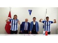 B.B. Erzurumspor, Erman Bulucu ve Metin Yüksel ile sözleşme imzaladı