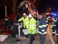 Eskişehir'de otobüs kazası: 13 ölü, 42 yaralı