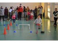 """Ermenek'te """"1. Eğlenceli Atletizm Şenliği"""" düzenlendi"""