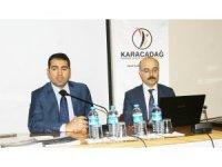 Karacadağ Kalkınma Ajansı Çermik'te bilgilendirme toplantısı yaptı