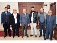 Başkan Albayrak CHP Kapaklı ilçe yönetimini ağırladı