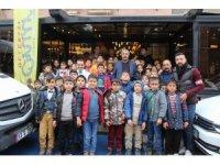 Bitlisli 65 öğrenci Diyarbakır'ı gezdi
