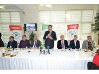 Bakan Tüfenkci, Yeşilyurt Kültür Sarayı projesini inceledi