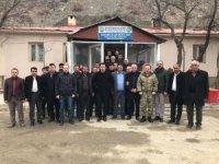 Kaymakam Özcan'dan fen işleri şefliğine ziyaret