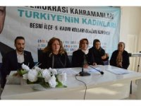 AK Parti Besni Kadın Kolları Başkanlığına Semra Semiz seçildi
