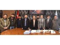 BAYGADER'den  İl Özel İdaresi Genel Sekreteri Aydoğdu'ya ziyaret