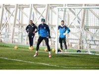 Atiker Konyaspor, Trabzonspor maçının son çalışmasını yaptı