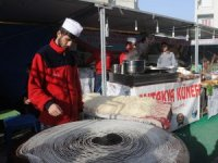 Cizre'de yöresel ürünler fuarı açıldı