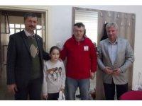 Türk Kızılay'ı Çan Şubesinden öğrencilere karne hediyesi