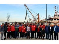 Vali Kaymak'tan Samsunspor'a moral yemeği