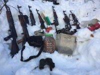 Tunceli'de PKK'nın silah deposu ele geçirildi