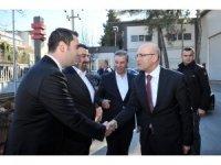 Başbakan Yardımcısı Mehmet Şimşek Özpolat Makina'yı ziyaret etti