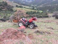 Çanakkale'de traktör devrildi: 1 ölü, 1 yaralı