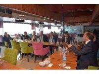Başkan Toltar aylık muhtarlar toplantısını gerçekleştirdi