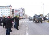 Adıyaman'dan Afrin'e askeri sevkiyat