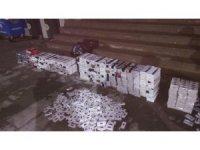 Adana'da 8 bin 350 paket kaçak sigara ele geçirildi