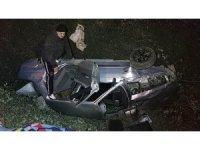 Samsun'da cenazeye giden aile kaza yaptı: 4 yaralı