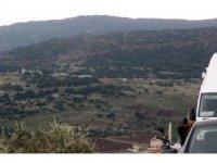 Kara harekatının başlangıç bölgesi İHA tarafından görüntülendi