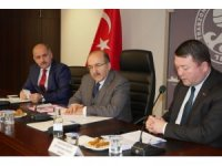 Ortahisar Entegre Su Projesi AB heyetiyle masaya yatırıldı