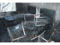 Evi yanan Taş ailesine yardım eli