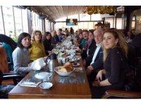 CHP Isparta il ve ilçe yönetimleri kahvaltıda buluştu