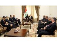 Bakan Çavuşoğlu, Irak Başbakanı İbadi ile görüştü