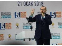 """Cumhurbaşkanı Erdoğan: """"Afrin'i gerçek sahiplerine teslim edeceğiz"""""""
