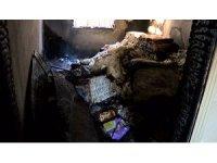 Şanlıurfa'da çıkan yangında 2 kişi dumandan etkilendi