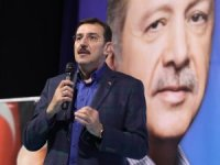 """Bakan Tüfenkci: """"Asla sınırlarımızın dibinde terör koridoru oluşturulmasına müsaade etmeyiz"""""""