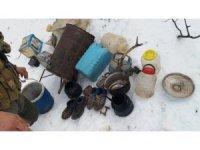 Tunceli'de PKK'nın ecza ve malzeme depoları ele geçirildi