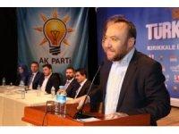 """AK Parti'li Dağdelen: """"Azminiz bu ülkenin en büyük teminatıdır"""""""