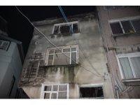 Beyoğlu'nda tarihi binada çökme meydana geldi