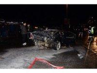Ordu'da trafik kazası: 1'i ağır 4 yaralı