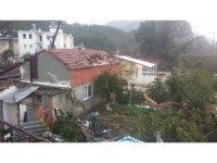 Antalya'da şiddetli fırtına ve hortum