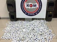 Mersin'de 2 bin 151 paket kaçak sigara ele geçirildi