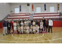 Potalara Gaziantep Kolej Vakfı damgası